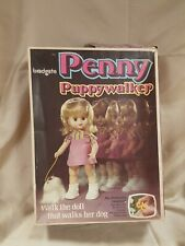 VINTAGE PENNY PUPPY WALKER DOLL IN BOX 1970s PALITOY BRADGATE