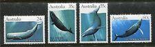 Australia 821-824 Mnh Whales 1982 Sperm, Southern right, Blue, Humpback x18765