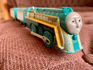 "Trackmaster Thomas & Friends ""Connor"" battery operated engine, turquoise"