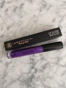 ANASTASIA Beverly Hills Creamy Lip Gloss - Color *Purple Rain* - Boxed & New!