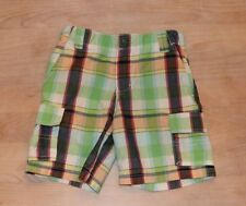 Kitestrings Plaid Boys Shorts Size 4