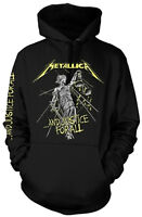 METALLICA And Justice For All Tracks Tracklisting HOODIE SWEATSHIRT OFFICIAL