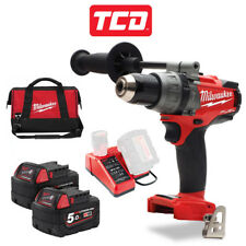 Milwaukee M18FPD-502X 18v Li-ion M18 trapano a percussione carburante - 2 X BATTERIE 5.0Ah