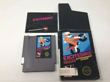 Excitebike (Nintendo NES) Complete in Box CIB, Authentic, Test And Working