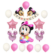 """Baby Shower Decorations for girl """"Its A girl"""" banner Minnie Mouse"""