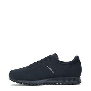adidas Originals Men's LA Trainer Weave Trainers Shoes Triple Black