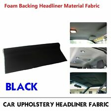 "Headliner Repair Foam Attached Fabric 85x60"" Renew Tron/Shed/Rips/Unclean Roof (Fits: More than one vehicle)"