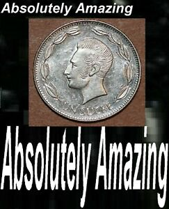 1988 Ecuador MR. Big Nose National Arms Foreign Coin KM#77 Age 33 Just for you..