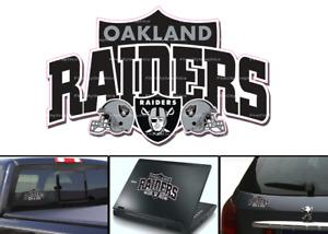 Oakland Raiders Vinyl Vehicle Car Laptop Yeti Sticker Decal