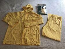 Yellow Coleman Rainflex Rainsuit Size Large