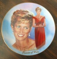 Forever,  Diana A Woman of Style Princess of Wales Collector Plate