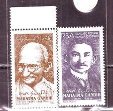 RSA(Africa)-Gandhi R1.40 1995 Set of 2 Diff. MNH Stamps #G25