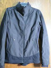 Lululemon 8 Draft Dodger Jacket Black Lace Reflective Magnet EUC! Gorgeous! Rare