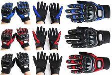 Biker's Gloves Motorcycle Biker Gloves Moto Cross Racing Scooter Gloves M-XXL UK