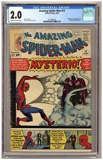 Amazing Spider-Man 13 (CGC 2.0) Origin and 1st appearance of Mysterio Ditko C107