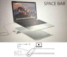 Supporto per Macbook.Inclinato organizer con HUB USB stand bianco ricarica dock