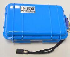 """Pelican Micro Case #1040-005-113 Blue - Interior size: 6 9/16""""L, 3 15/16""""W, 1 3/"""