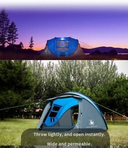 Camping Tent 4-6 Person outdoor Automatic large tents Double Layer Waterproof