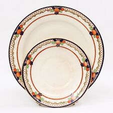 Vintage John Maddock & Sons Ltd. Royal Vitreous Dimsdale Porcelain Dinner Plates