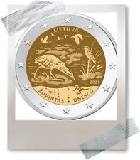 2 EURO *** Litouwen 2021 La Lituanie ***  Zuvintas !!!