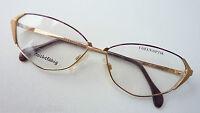 Coeln Optik Brillenfassung Damengestell Metall Butterflyform extravagant size M