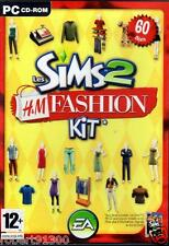 JEU PC CD ROM../..LES SIMS 2...H.M FASHION.../.. KIT../..DISQUE ADDITIONNEL