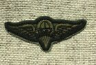 Vietnam-1970's Era US Army Rigger Wings Patch Insignia Subdued