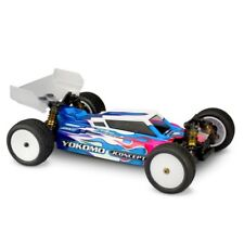 JConcepts Yokomo YZ4-SF Clear Body, w/ Aero S-Type Wing - JCO0360