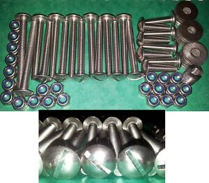 Land Rover Defender Series I II 3 90 110 STAINLESS SAFARI ROOF Stainless Screws