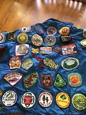 Lot of 103 Vintage Patches, Girl Scouts, Travel, Disney, And More. 70s-80s