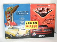 """2 Box DVD Sets """"Great Cars American Classics and Legendary Muscle Cars"""" R1 New"""