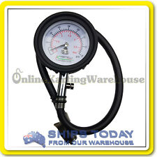 GO KART PROFESSIONAL TYRE PRESSURE GAUGE 65MM IN CASE GENUINE KARTELLI CORSE
