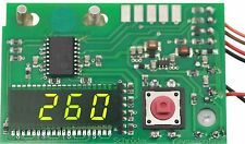 Digital Counter Green compteur z77 vert revox pr99 avec suppression des zéros 7,6 MM