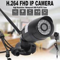 Wireless WIFI Camera 1080P HD Network Cam CCTV In/Outdoor Security IR Night
