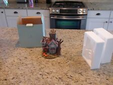 Partylite Ghostly Tealight House P7862 EUC
