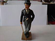 Figurine Charlie Chaplin en plomb