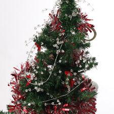110cm Acrylic Crystal Garland Hanging Bead Curtain Wedding Party Christmas Decor