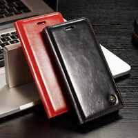 Genuine CaseMe Leather Flip Wallet Card Case Cover For iPhone 11 Pro XS Max XR 8