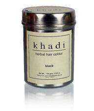 Khadi Naturel Herbes Noir Henné Cheveux Couleur Produit 150 GM - Gratuit Navire