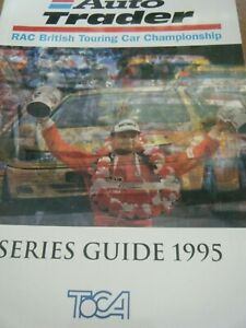 1995 TOURING CAR GUIDE TOCA WILLIAMS RENAULT LAGUNA WILL HOY ALAIN MENU VOLVO S