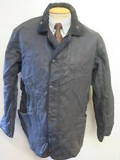 "Barbour D211 Duracotton Polar Quilted jacket L 42-44"" Euro 52-54 in Black"