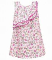 Bonnie Jean Baby Girl's Dress Pink Size 24 Months Floral Printed $30- #783