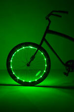 Wheel Brightz  1 Single Pack Green Bicycle Lights  New in Package