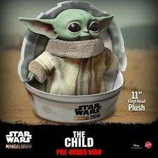 "PRE-ORDER MAY 2020 - Star Wars Mandalorian The Child 11"" Plush Baby Yoda Doll"