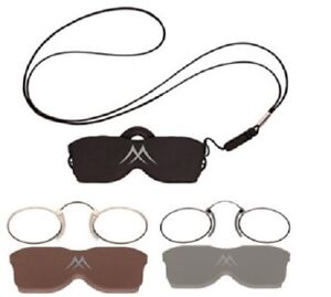 Stainless Steel Pince Nez Nose Reading Glasses