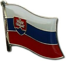 Slovakia Country Flag Bike Motorcycle Hat Cap lapel Pin