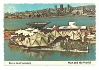 EXPO MAN AND HIS WORLD TERRE DES HOMMES MONTREAL QUEBEC, CANADA CHROME POSTCARD
