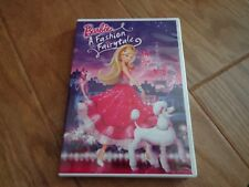 Barbie: A Fashion Fairytale (DVD, 2010) EUC
