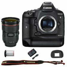 Canon EOS 1DX mark II DSLR Camera Body EF 24-70mm f/2.8L II USM Lens