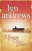 Mersey Blues by Lyn Andrews, Acceptable Used Book (Paperback) FREE & FAST Delive